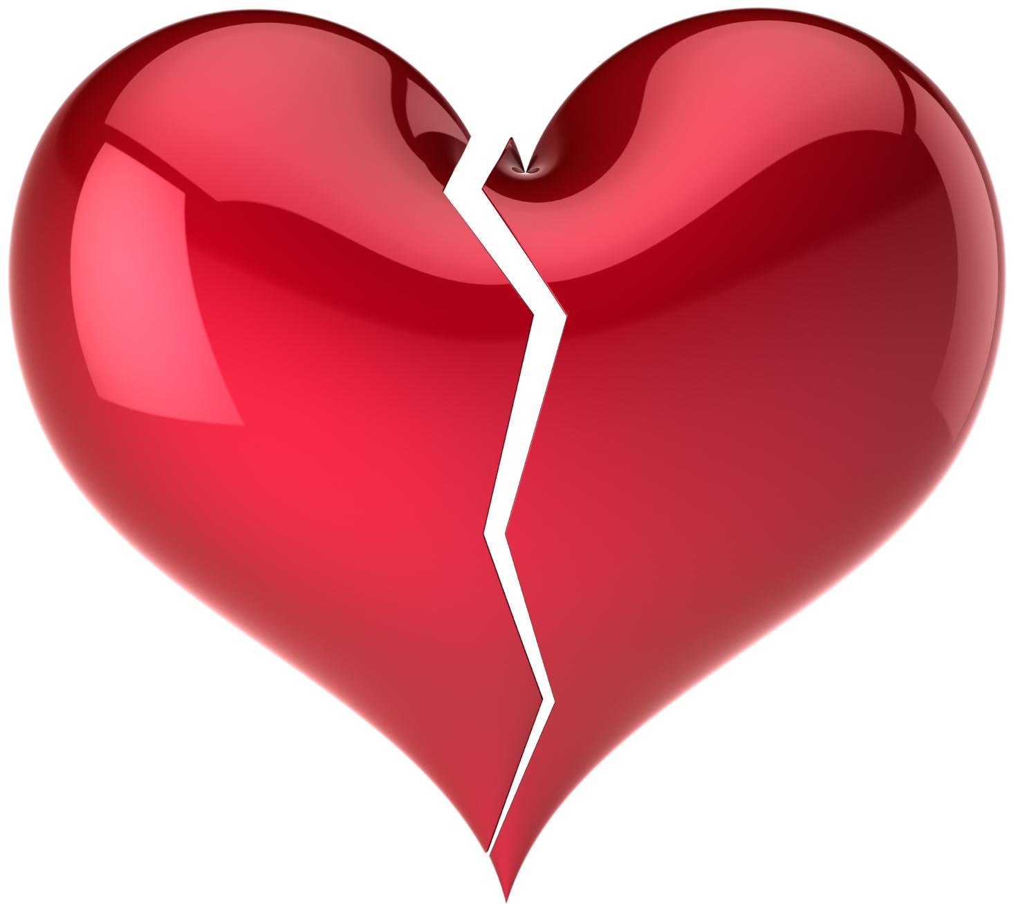 Ett brustet hjärta